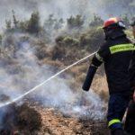 Νέα φωτιά στην Κόρινθο – Κοντά στον Ισθμό οι φλόγες