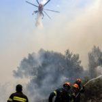 Σε ύφεση η φωτιά στην Ηλεία – Σχεδόν 33.000 στρέμματα κάηκαν στις Κεχριές