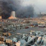 Βηρυτός: η τραγική στιγμή της έκρηξης (video)