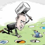 Τουρκικό φίμωτρο συνειδήσεων και παιχνίδια εξουσίας