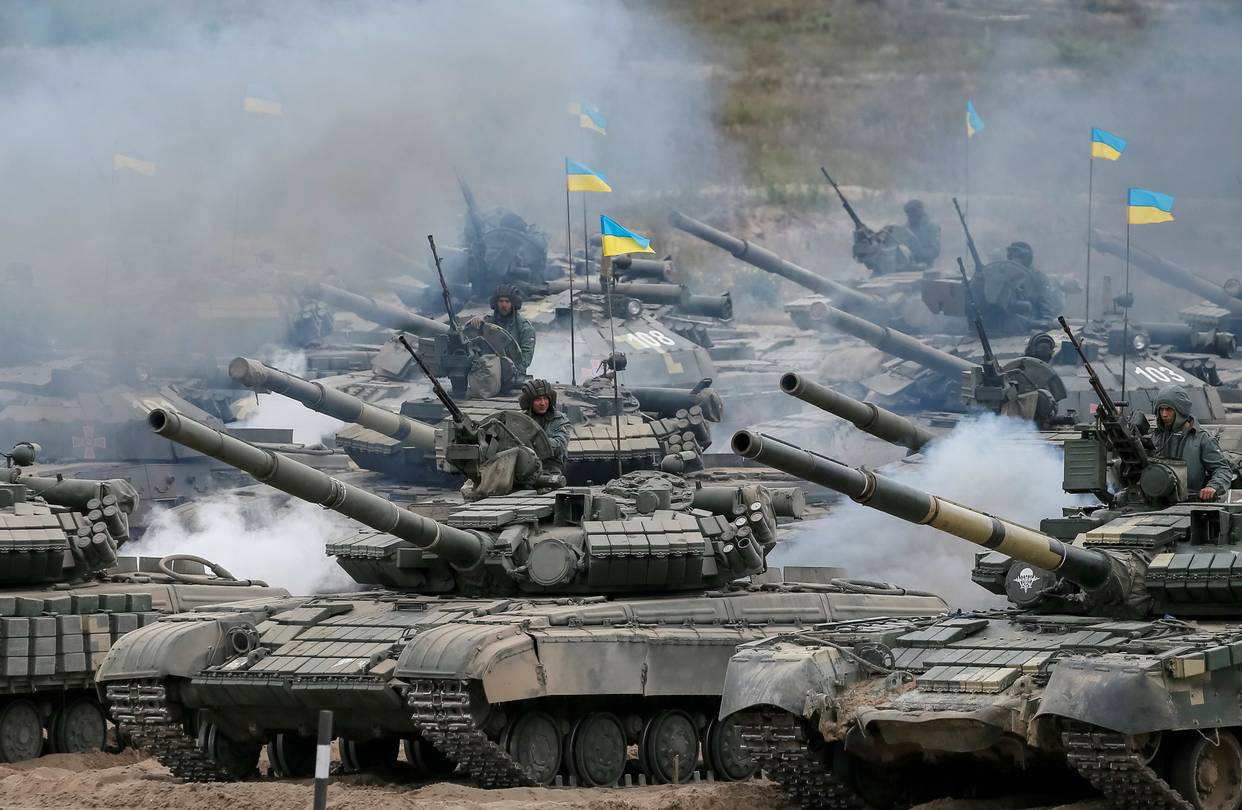 Ουκρανία Τανκς