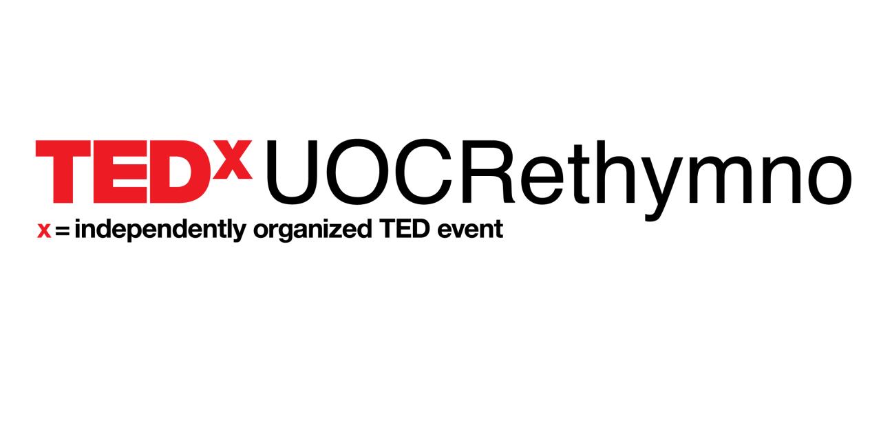 TEDxUOCRethymno: μια ανατρεπτική διέξοδος από την πανδημία