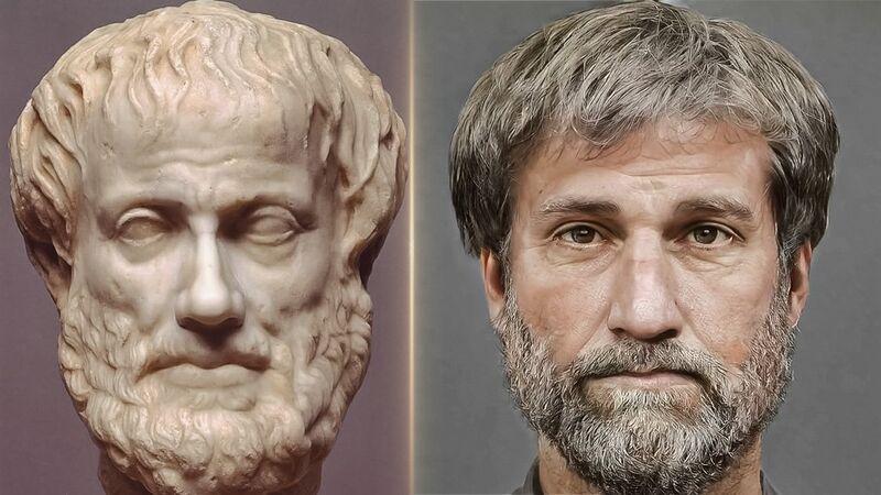 Τα πρόσωπα των μεγάλων αρχαίων Ελλήνων έρχονται στη ζωή μέσω 3D αναπαράστασης