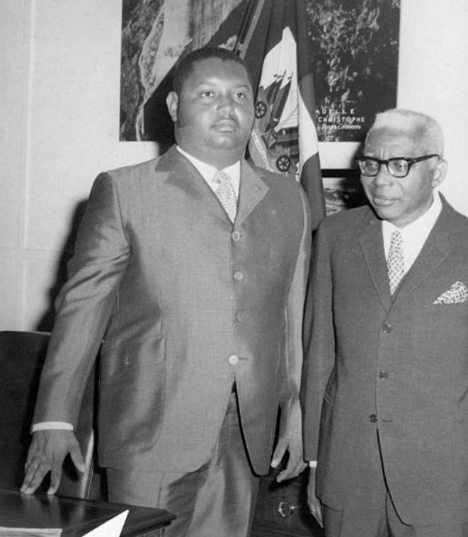 Οι Francois και Jean-Claude Duvalier